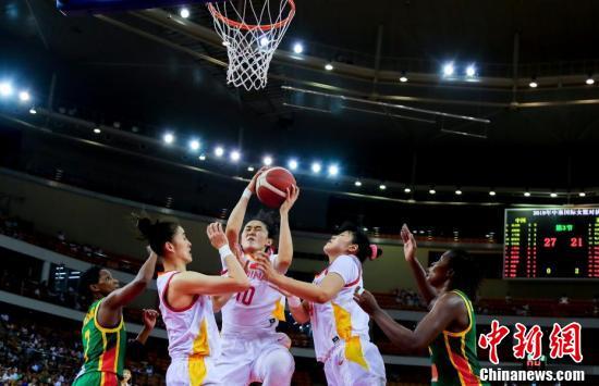 中国女篮战胜塞内加尔女篮中国女篮战胜塞内加尔女篮