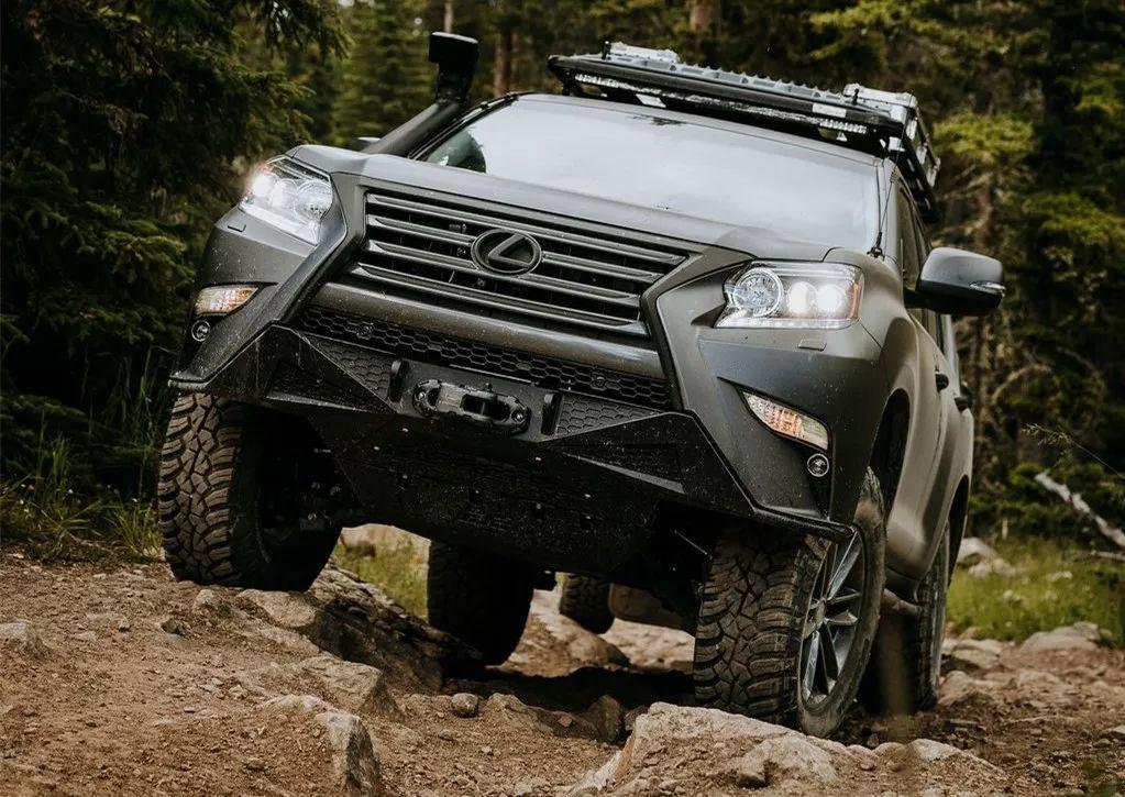 这台开不坏的SUV,将豪华与越野完美结合,可以去任何地方!