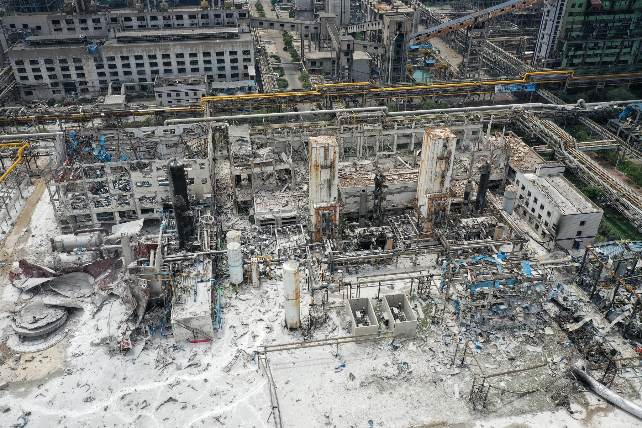 河南义马气化厂爆炸前换班不久
