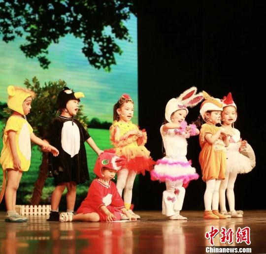"""2019咘噜杯·""""金画眉""""儿童戏剧教育嘉年华举行"""