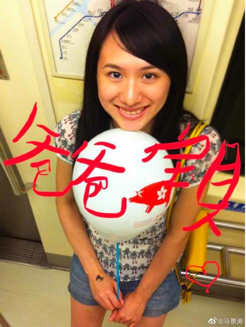 马景涛28岁女儿照片曝光!美丽大方继承好基因,鼻子像复制的一样