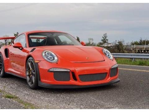 人像街拍迄今最强自然吸气保时捷911,GT3RS橙色外观很亮眼!