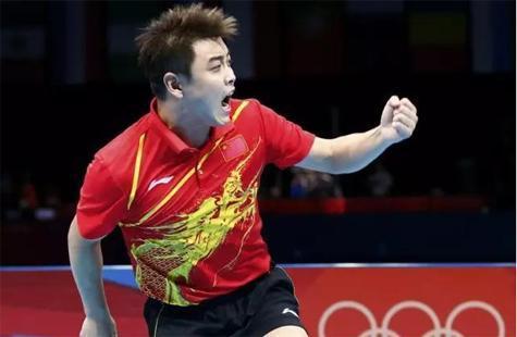 王皓已经退役不再当运动员当起教练继续为国家培养优秀乒乓运动员