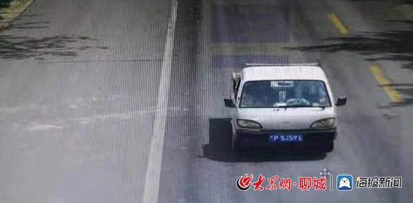 """莘县""""天眼""""显神威 """"E""""证男子驾驶报废车违法上路被查处"""