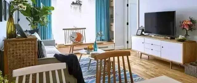 老婆砸10w装的北欧宜家风新房,不做吊顶省钱大气!