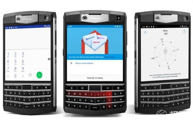 酷似黑莓,国产厂商推出全键盘方屏安卓机
