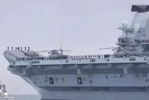 """""""伊丽莎白女王""""号航母又进水 房兵:英国军用造船工业根基坍塌"""
