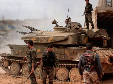 叙利亚总攻发起,俄空天军战机铺天盖地,巨型炸弹重达800公斤