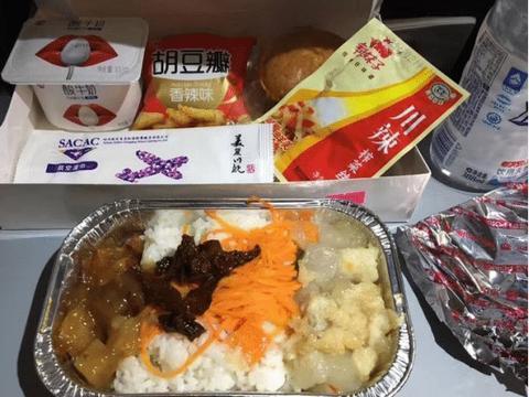 全世界最洋气的飞机餐,饿着上去扶着腰下来,乘客:空姐来个火锅