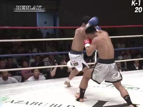 中国小将创造拳台奇迹!武林风朱帅55秒KO日本K-1王者卜部功也!