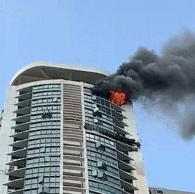 43楼起火,男子坠楼,调查结果让人惊讶