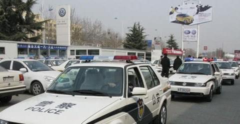 """中国警车终于""""大换血"""",告别了丰田大众,中国风范一览无余!"""