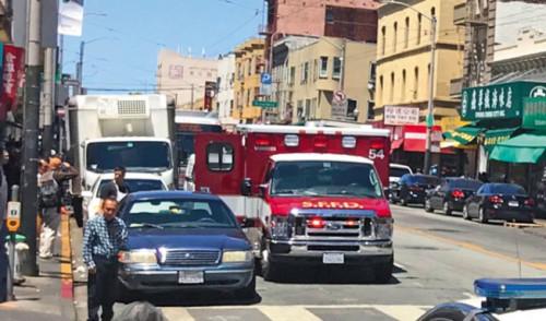 旧金山市政府表示华埠仍安全 华人社区不认同