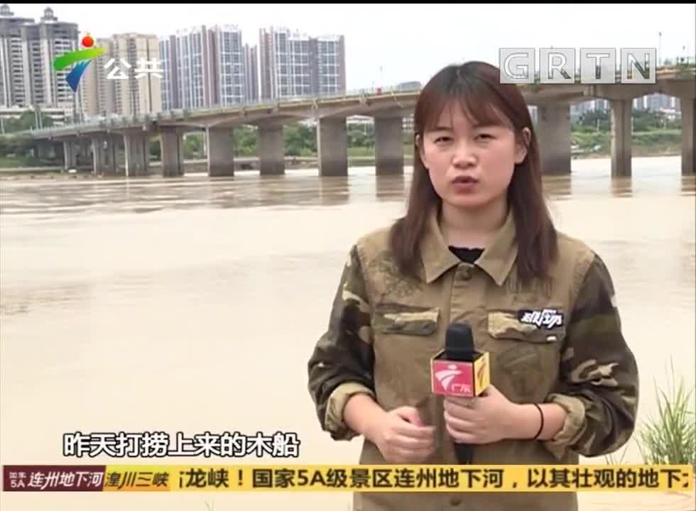 河源:驾船网鱼遇险 三名男子落水