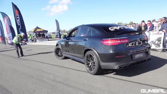 950匹GLC63s vs 820匹BMW E30 325i(使用  录制)