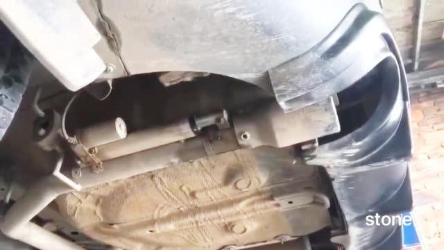 你的排气带阀门?我的排气带伸缩(使用  录制)
