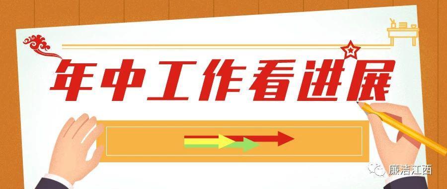 江西南昌、九江纪委监委半年工作展来了
