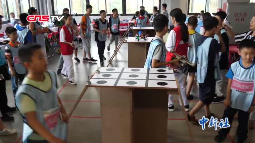 国际教育机器人全球总决赛在广州从化举行
