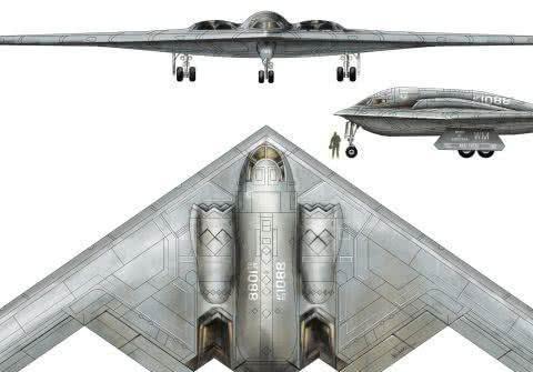 全球造价第一轰炸机,因一个小零件,起飞不久坠毁,成为废铁