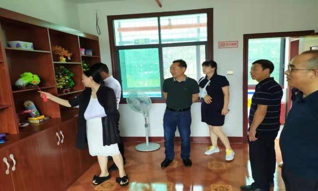 益阳市残联调研碧云残疾人托养服务中心