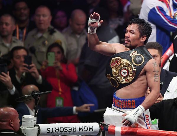 40岁帕奎奥还能击败超级拳王瑟曼