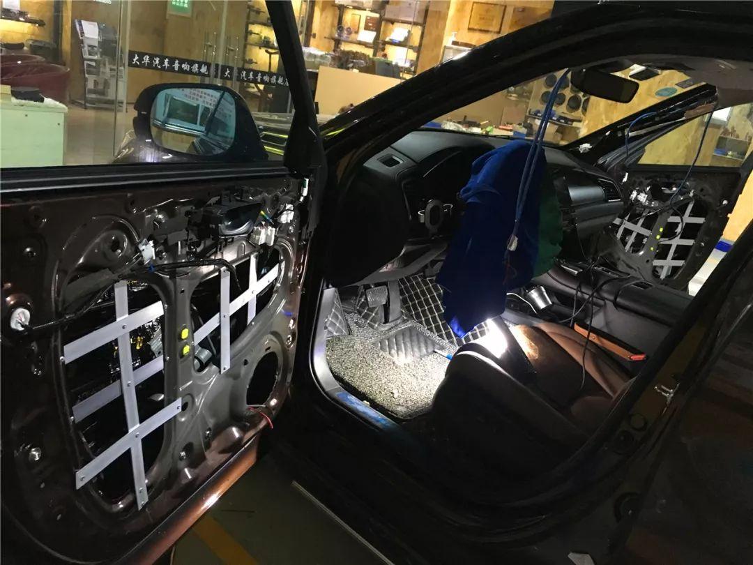 门板不牢、中低音涣散?试试大华的门板加固方案-东莞汽车音响