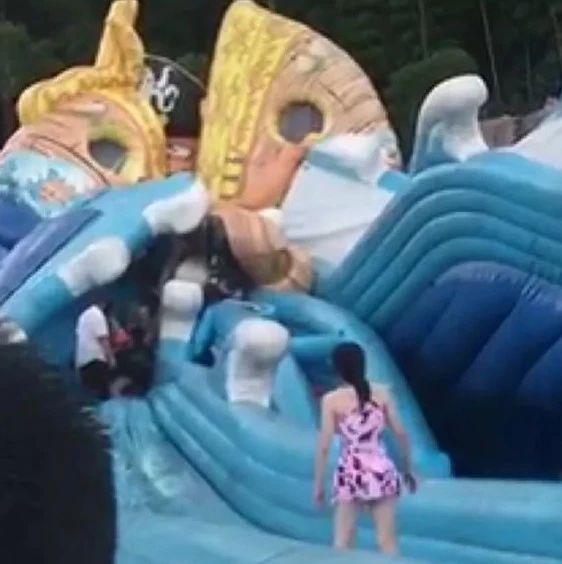 痛心!充气游乐设施下陷导致8岁女孩不幸身亡,暑期还有这些安全事故要防范!