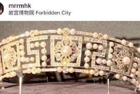 刘嘉玲眼光独到,收藏皇冠花费天价被故宫借去展览
