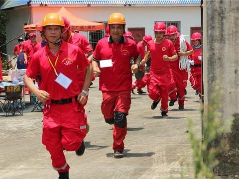 广西爱新救援开展救灾集训演练 提高综合救援技能及实地作战能力