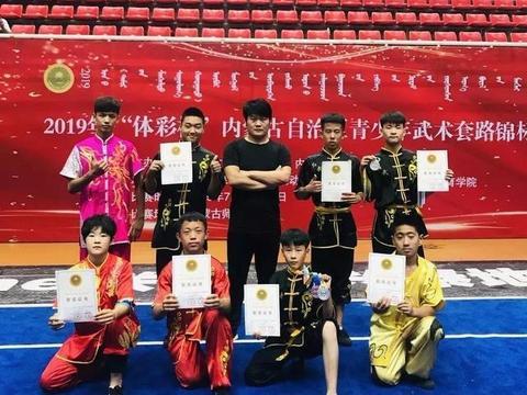 开发区小在2019年体彩杯内蒙古自治区青少年武术套路锦标赛创佳绩