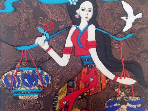 镇坪县中学生绘画作品《凝思》获全国中小学生艺展二等奖