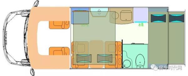 您的第一辆隆翠小额头房车——隆翠雪峰T型房车详解