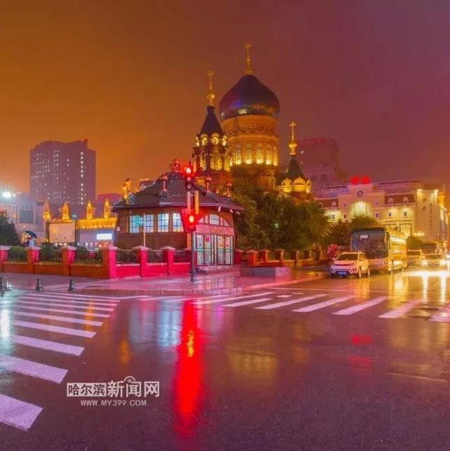刚刚,哈尔滨市发布暴雨橙色预警!这些站点雨量超80毫米|本周雨雨雨雨不停歇