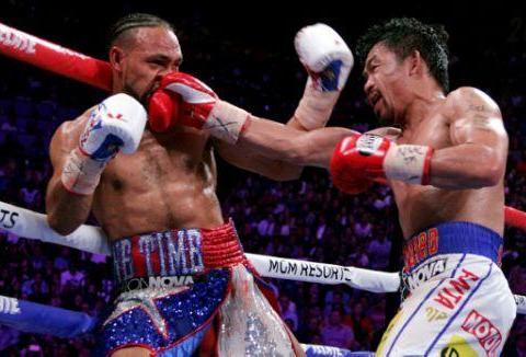 菲律宾举国欢庆拳王帕奎奥击败美国对手