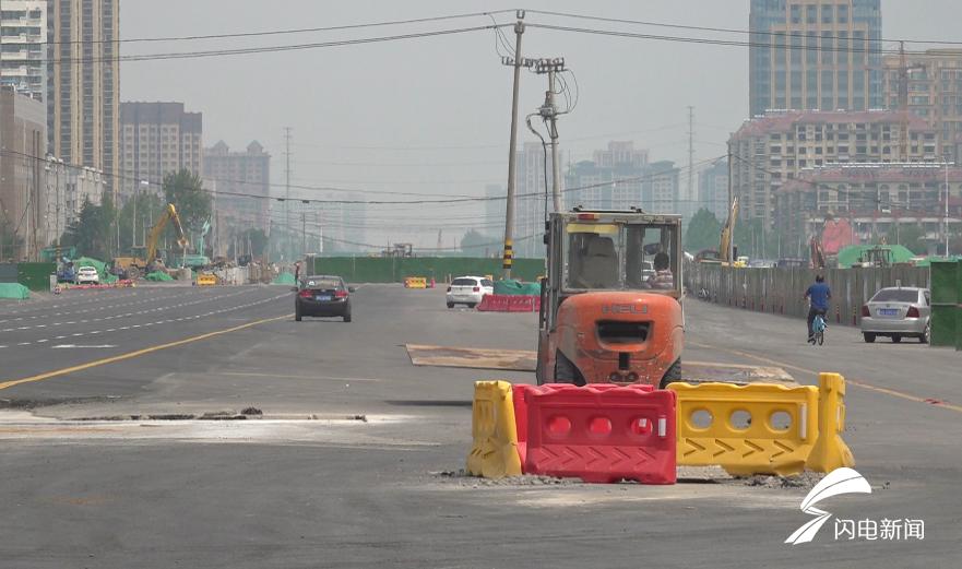 72秒丨过街地道、最高配天桥齐亮相 潍坊这条交通主路月底通车
