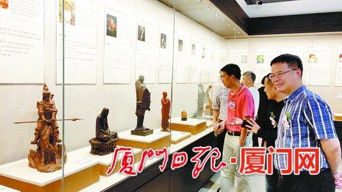 一馆看遍全省工艺美术大师代表作 海峡工艺美术馆在厦开馆