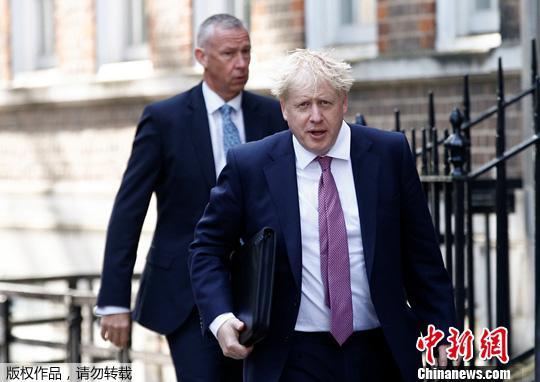 """英媒预测约翰逊""""登基"""" 英国首相职位几无悬念"""