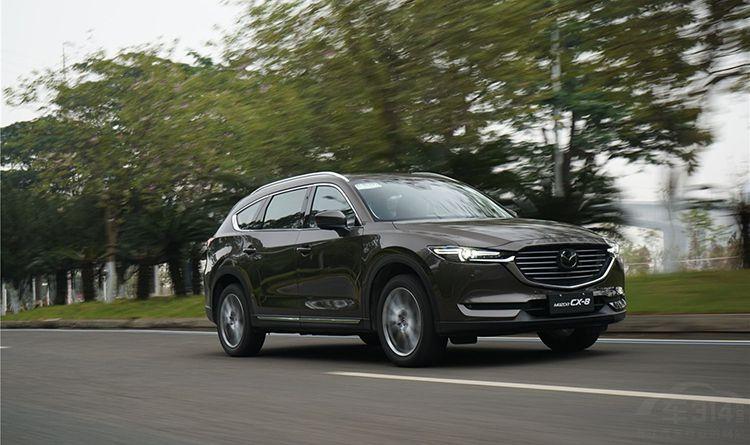 上市对标汉兰达 如今月销不足60台,为何CX-8如此不堪?
