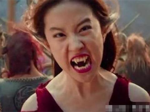 """同样饰演""""妖精"""",刘亦菲靠牙齿,李一桐靠美瞳,她一个表情做到"""