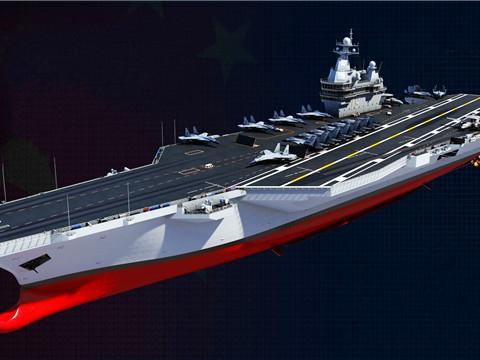 中国核动力航母梦,将由第四艘航母完成,003号继续使用常规动力
