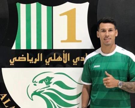 官方:西班牙人边锋佩雷斯加盟卡塔尔阿尔阿赫利