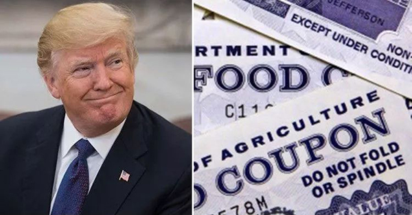 特朗普新规严审免费食物发放对象 310万人受影响|特朗普|民主党