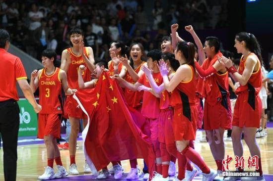 女篮亚洲杯赛程:中国队首战新西兰 与澳大利亚同组