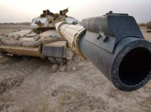 安装线膛主炮的坦克,如何打长杆脱壳穿甲弹?