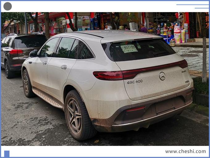 奔驰纯电动SUV实车曝光,55万元起售,比特斯拉Model X划算