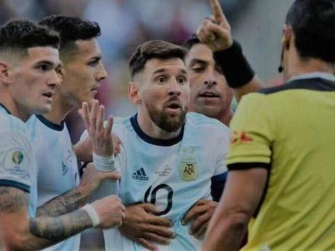 梅西被南美足协禁赛一场,罚款1500美元,阿根廷足协主席被撤职