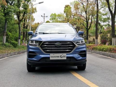 重庆斯威G01F,1.5T156马力,质量可靠,十万元走性价比路线