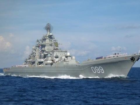 世界最大的巡洋舰采用核动力驱动
