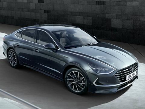 Hyundai油电Sonata新增太阳能充电车型