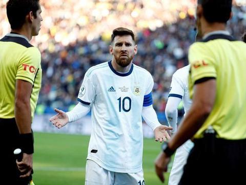 梅西逃过一劫!未被追加处罚仅被停赛1场 无碍征战明年美洲杯